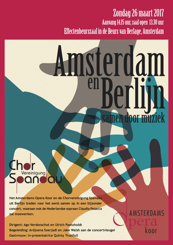 AOK. Flyer 2017-03-26. Concert Beurs van Berlage 26 mrt 2017