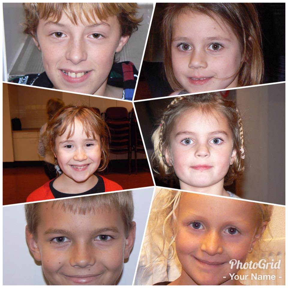 1 collage kids