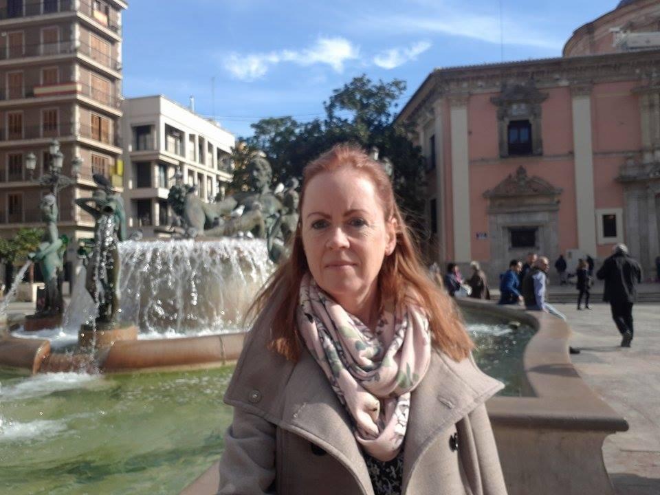 fontein Plaza del Virgen