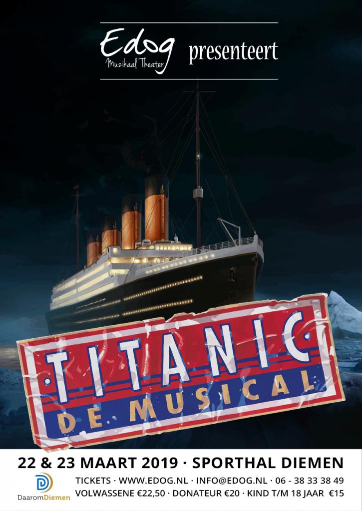 2019 titanic poster